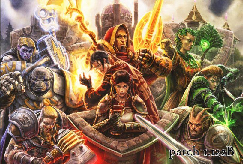 Midgard, Albion e Hibernia i tre reami di Dark Age of Camelot. Patch 1.122B