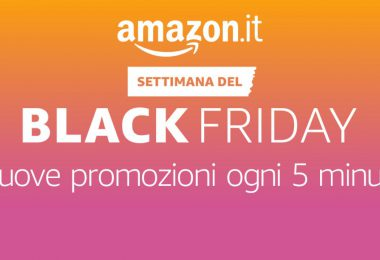 amazon black friday mercoledì 23 novembre
